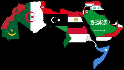 خريطة الدول العربية