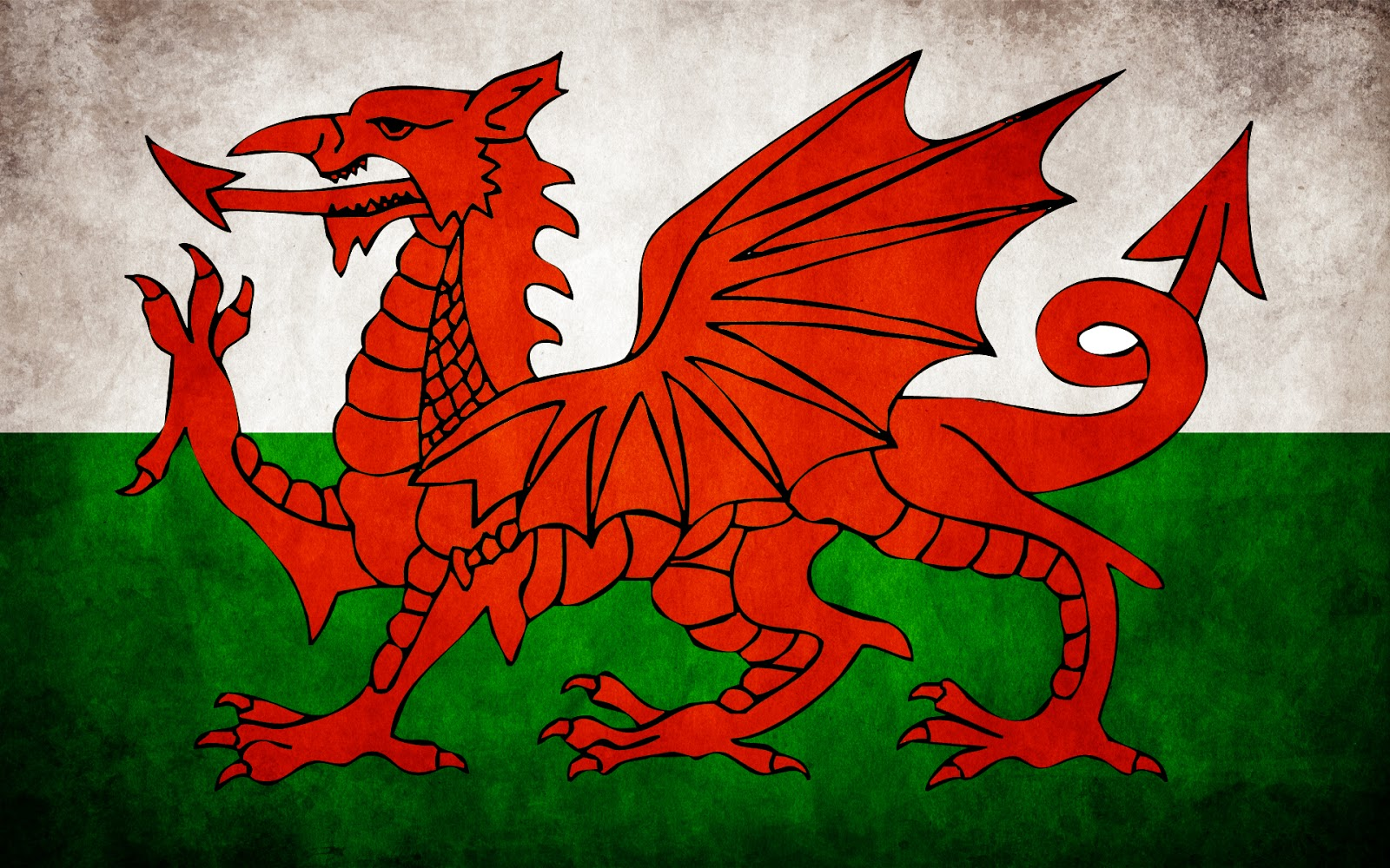 best coloring page dog: Welsh Flag Wallpaper