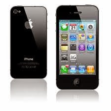 Spesifikasi Handphone iPhone 4G - Black