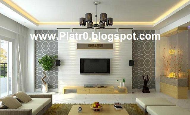 Decoration Chambr Plazma : Deco villa placoplatre ba décoration platre maroc