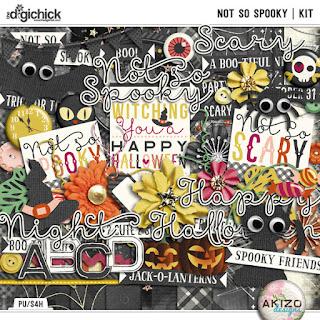 Not So Spooky by Akizo Designs