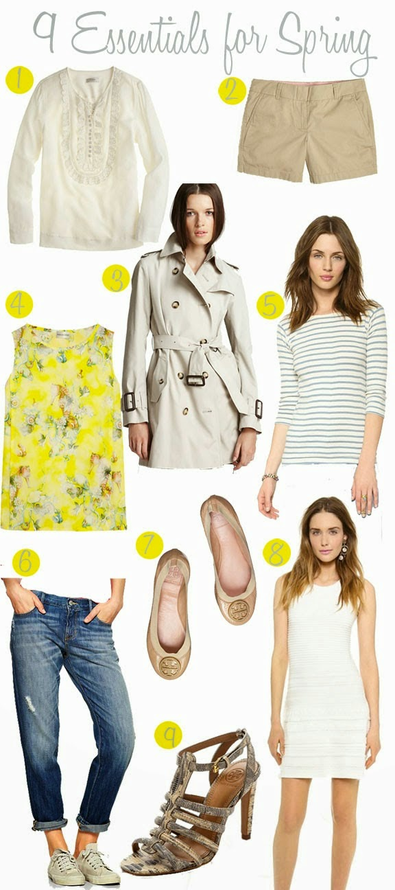 http://focusonflair.blogspot.com/2014/04/nine-spring-wardrobe-essentials.html