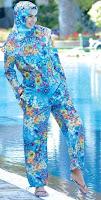 яркий, купальный хиджаб