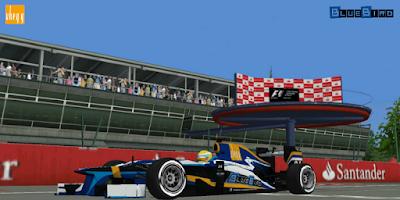 Olasz Nagydíj, Monza, Formula-1 Szentliga, Szentliga, F1, sport, szimulátorbajnokság, BlueBird Racing,