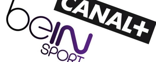 Les deux chaînes beIN Sports et Canal+