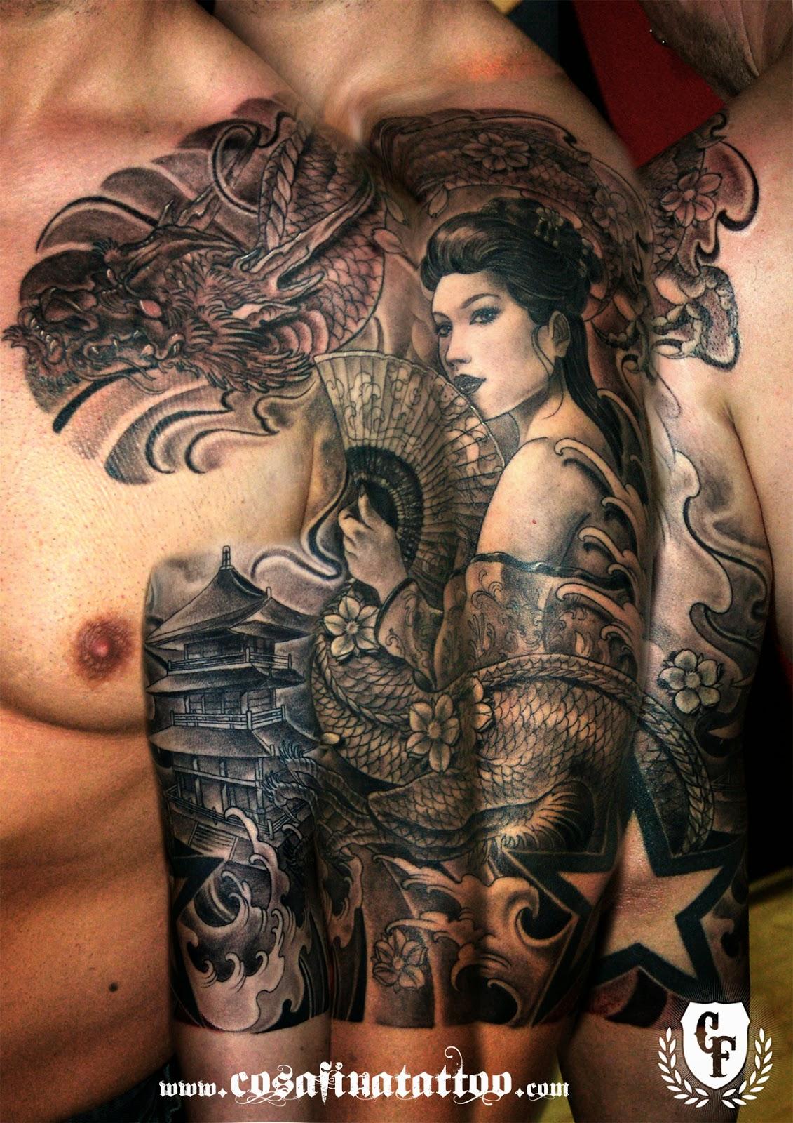 Tattoo Brazo Hombre Japones cosafina tattoo carlos art studio: tatuaje japones oriental yakuza
