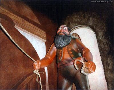 Pinocchio's Daring Journey dark ride Disneyland Stromboli