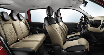 New Fiat Panda Seats view