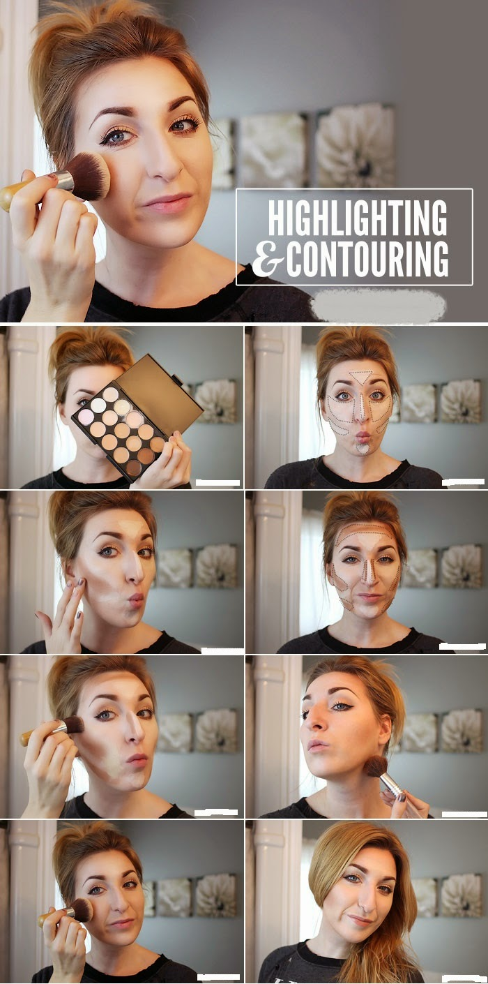HOW TO HIGHLIGHT AND CONTOUR: MAKEUP TUTORIAL