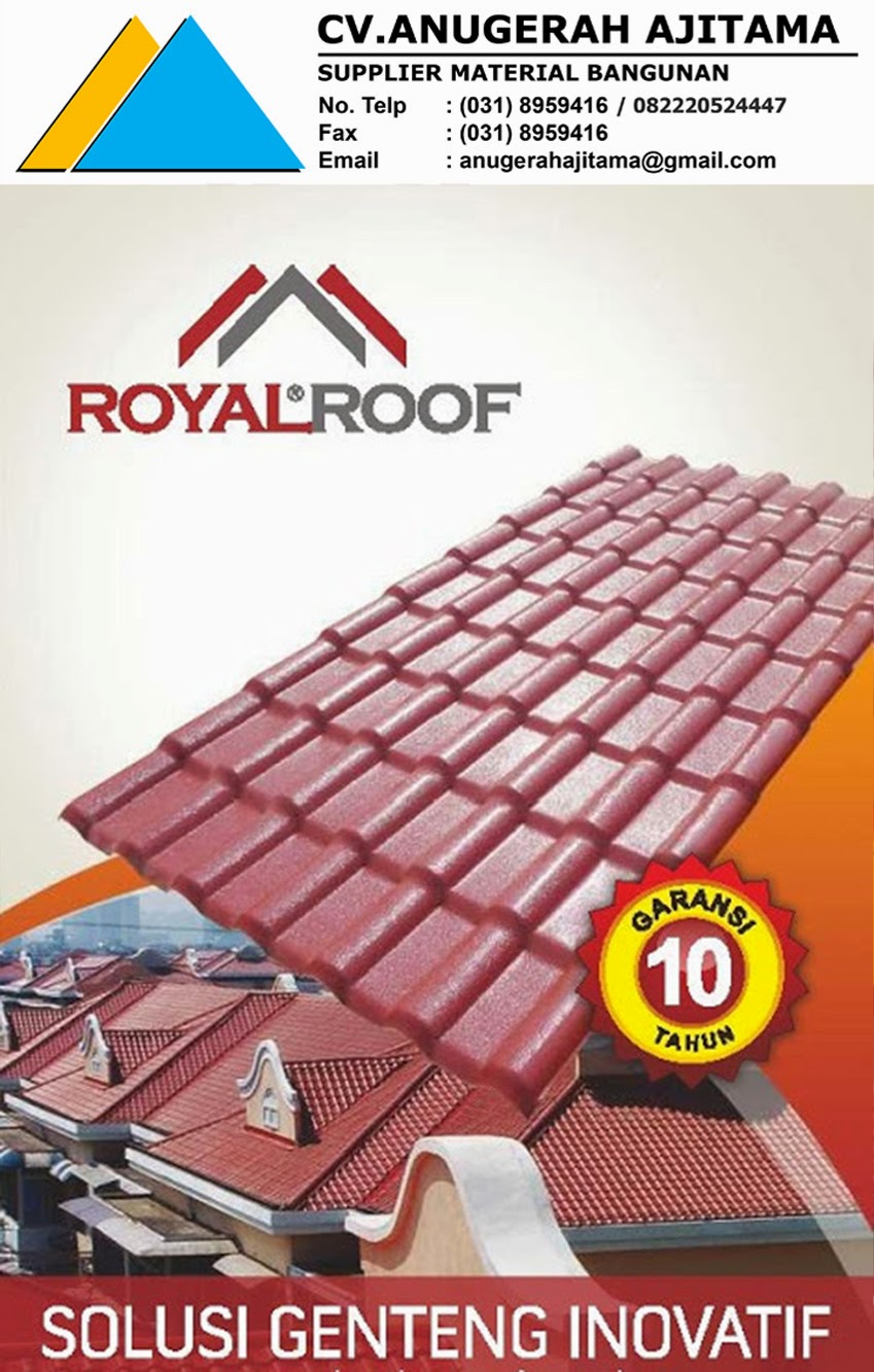ATAP UPVC ROYAL ROOF