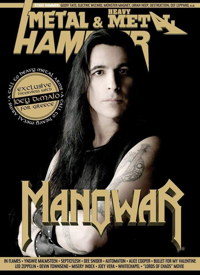 Metal Hammer GR #411 is out now