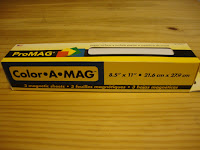 Color A Mag Flexible Magnetic Sheeting
