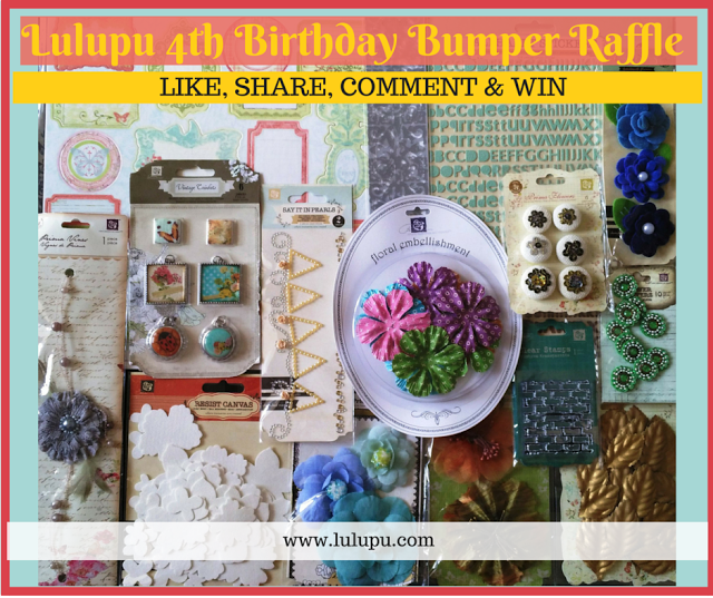 Lulupu 4th bday raffle