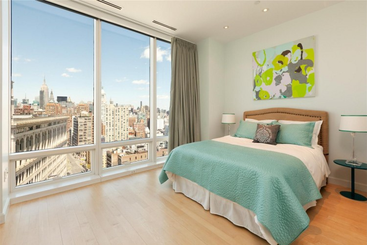 World of architecture penthouses interiors of duplex in astor place new york - The most beautiful bedroom in the world ...
