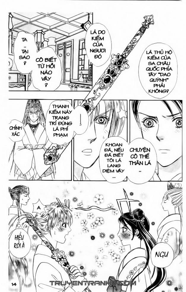 Đôi Cánh ỷ Thiên - Iten No Tsubasa chap 10 - Trang 13