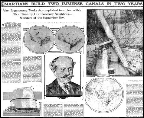 Resultado de imagen de Schiaparelli y los cañones de Marte