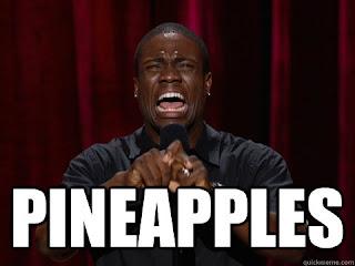 Kevin Hart Face Meme Pineapples