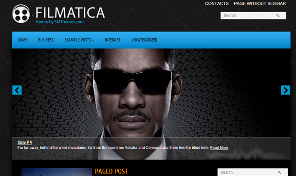 Filmatica WordPress Template SEO Friendly