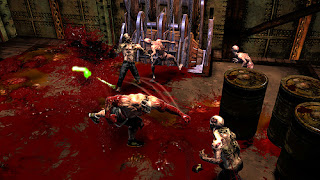 Splatterhouse 2010 Gameplay Footage
