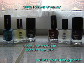 100th Follower Giveaway! (20/01)