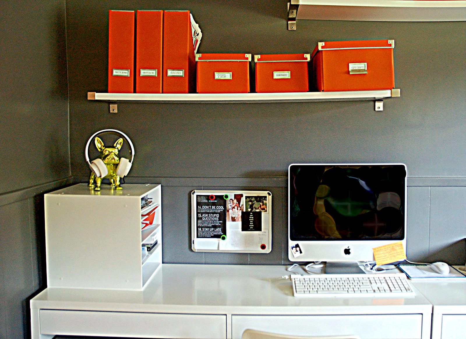 From My Orange Desk I Love An Organized Office
