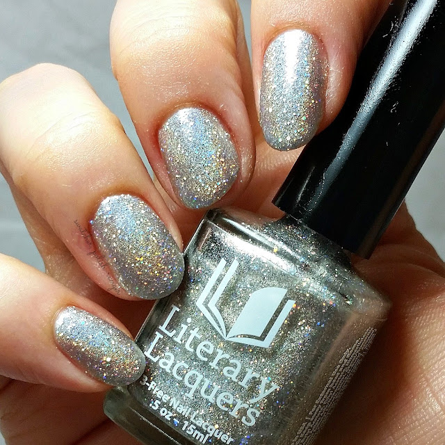 swatcher, polish-ranger | Literary Lacquers Mirror of Galadriel swatch