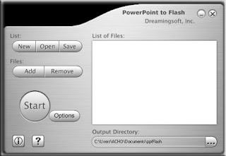 Convert Power Point Slide (PPS) Ke Flash