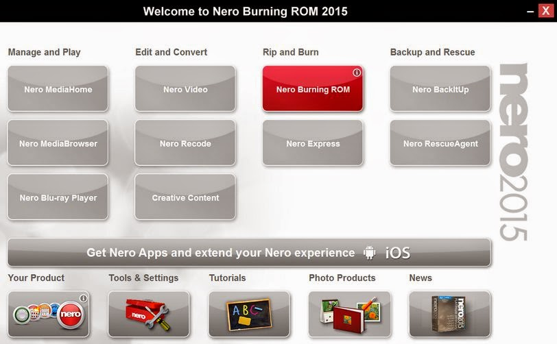 nero burning rom free crack