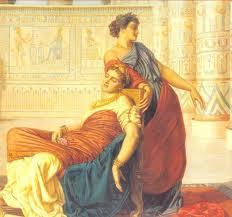 Cleopatra and Mark Antony's Death