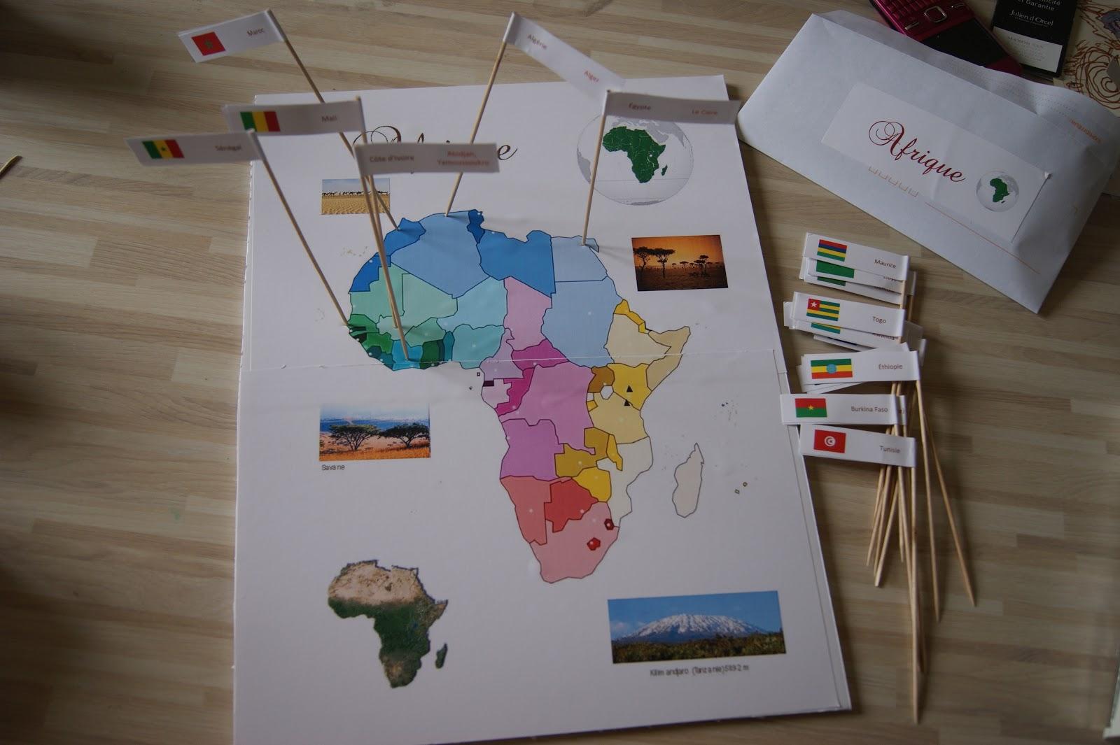 Carte De Lafrique Interactive.Laura George Activites Pour Mamans Et Pour Enfants Carte D Afrique