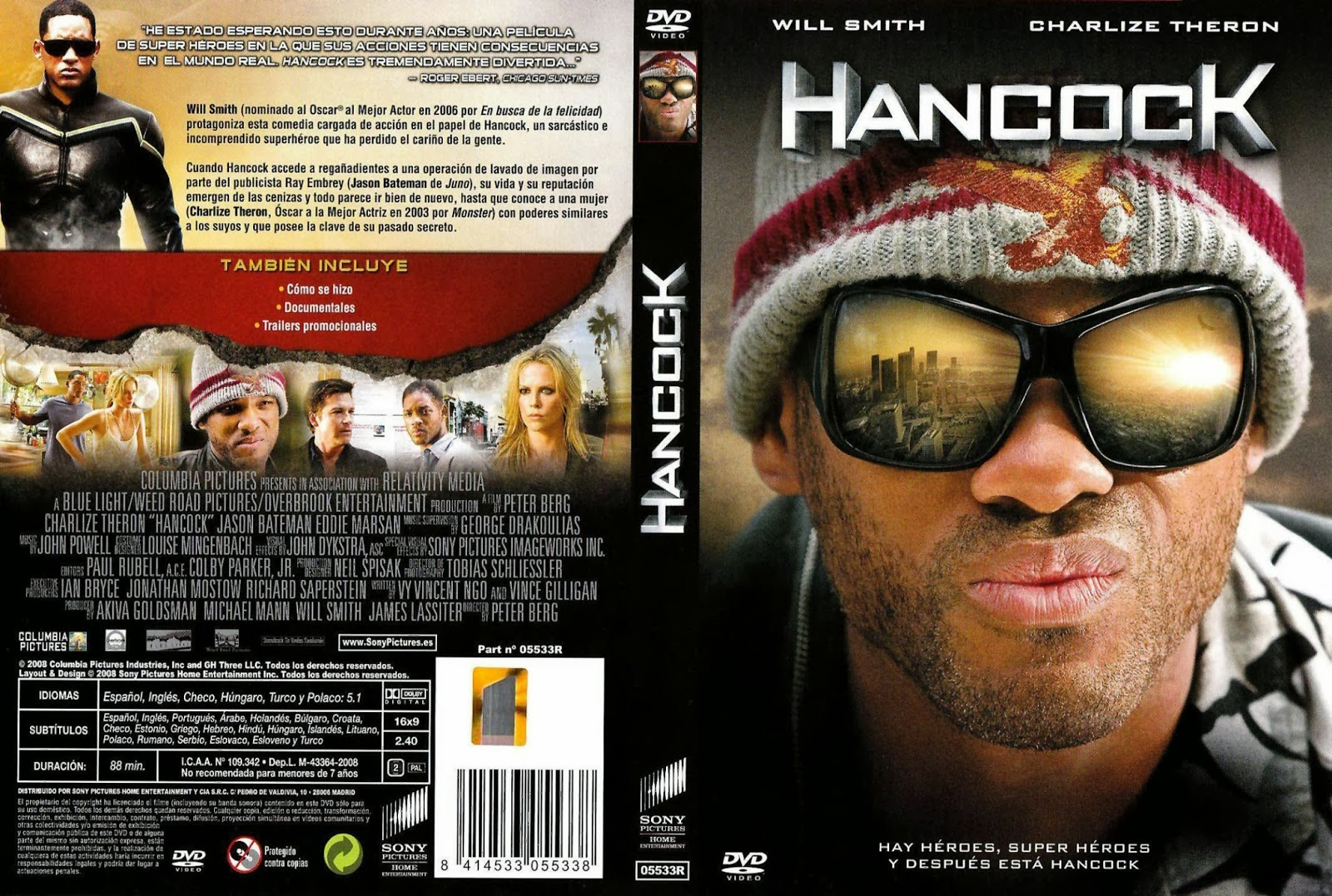 Hancock (Version Extendida) DVD