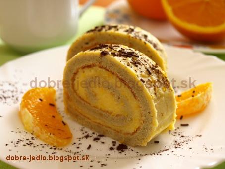 Roláda z pomaranča - recepty