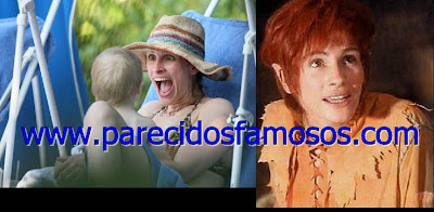 Juliana Roberts Famosos antes y después