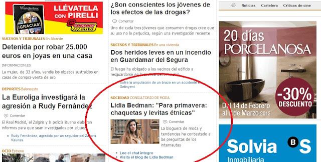 Entrevista- Diario información de Alicante