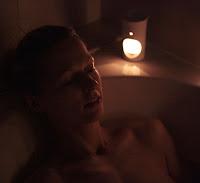 Enjoying home spa with a bath bomb