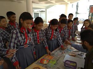 Book fair in KV Subathu