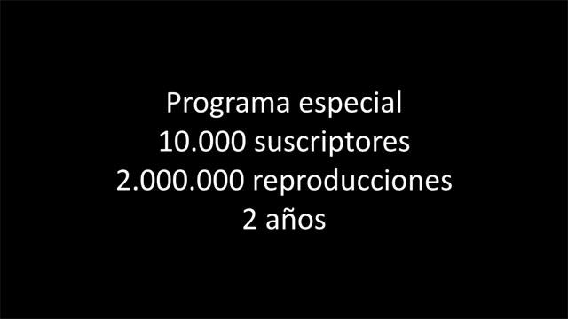 Programa especial (VIDEO)