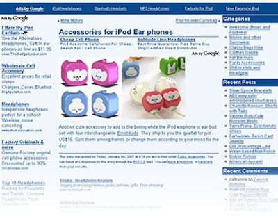 Free Download BlueSense Adsense Blogger Templates 2014