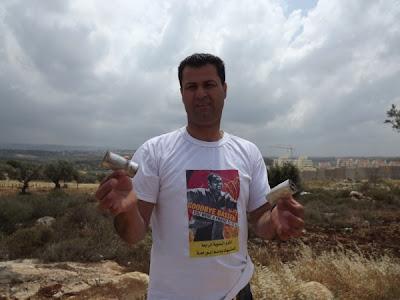 Abdallah Abu Rahma, coordenador do Comitê de Luta Popular