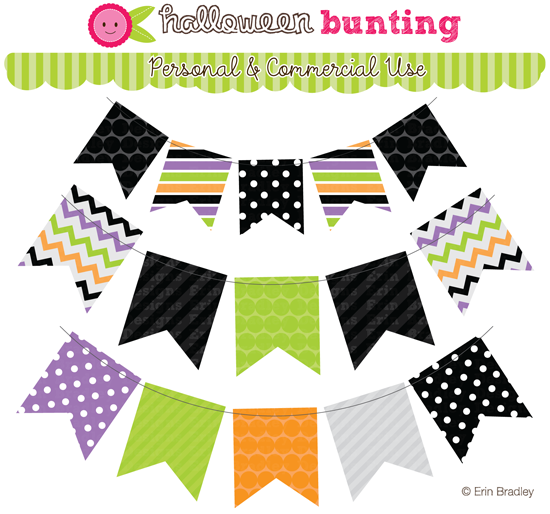 Halloween Bunting orange abby zeppelin New To The Website This Week Are Ghost Owls Bat Owls Bunting And Matching Digital Papers