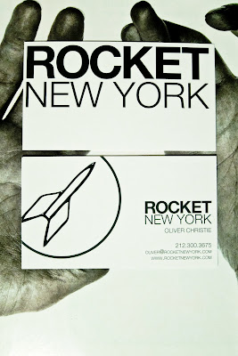 hands holding rocket new york business cards, printed by GotPrint