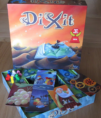 The Dixit Box and some cards