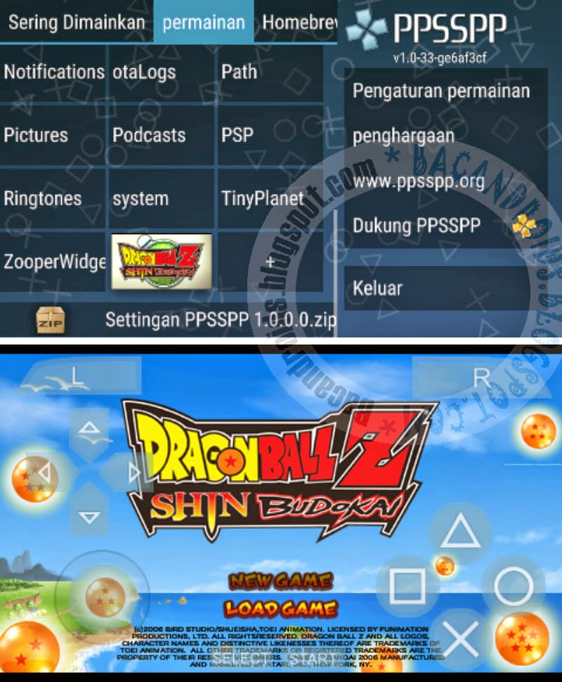 Download Emulator PPSSPP v1.0.0.0 + Cara Settingan Game lenkap NO LAG
