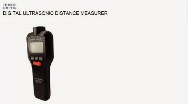 Digital Ultrasonic Distance Measurer
