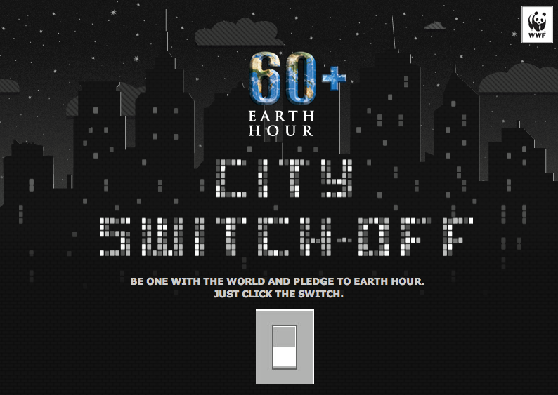 Let's Switch Off Lights at #EarthHour2014! March 29, 8:30PM