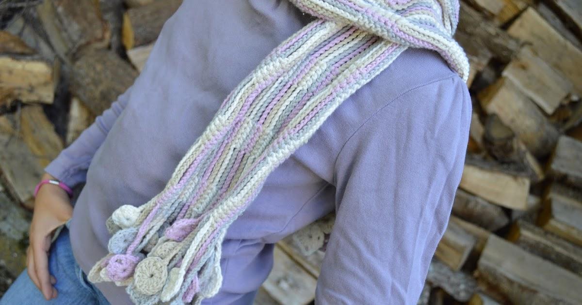El esperado tutorial de la bufanda de cadenetas al aire