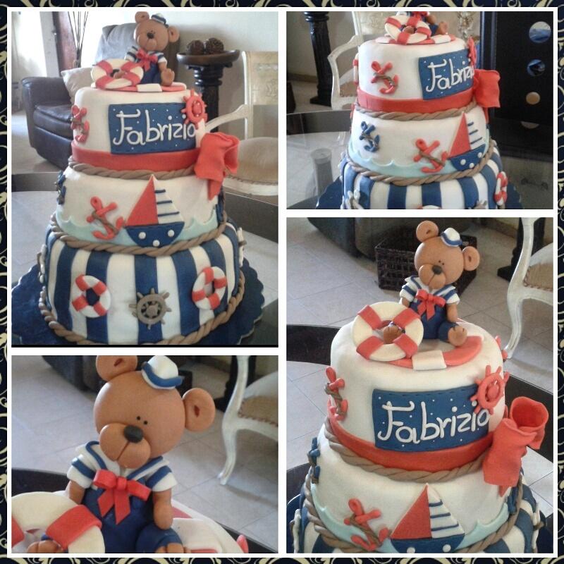 Torta Oso marinero