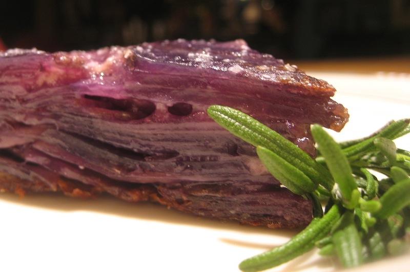 Purple Potato Parmesan The Perfect Thanksgiving Side Dish