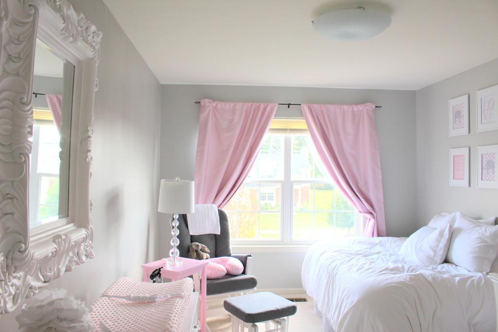Gray polka dot curtains - Blog O Niemowl Tach Rodzicielstwie Oraz Designie Dla Dzieci Pok 243 J