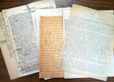 "Original ""Kingdom Stories"" Manuscript"